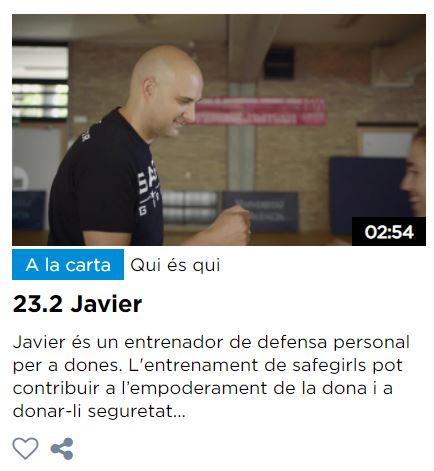 DOCUMENTAL SOBRE JAVIER FORTUÑO EN A PUNT TV