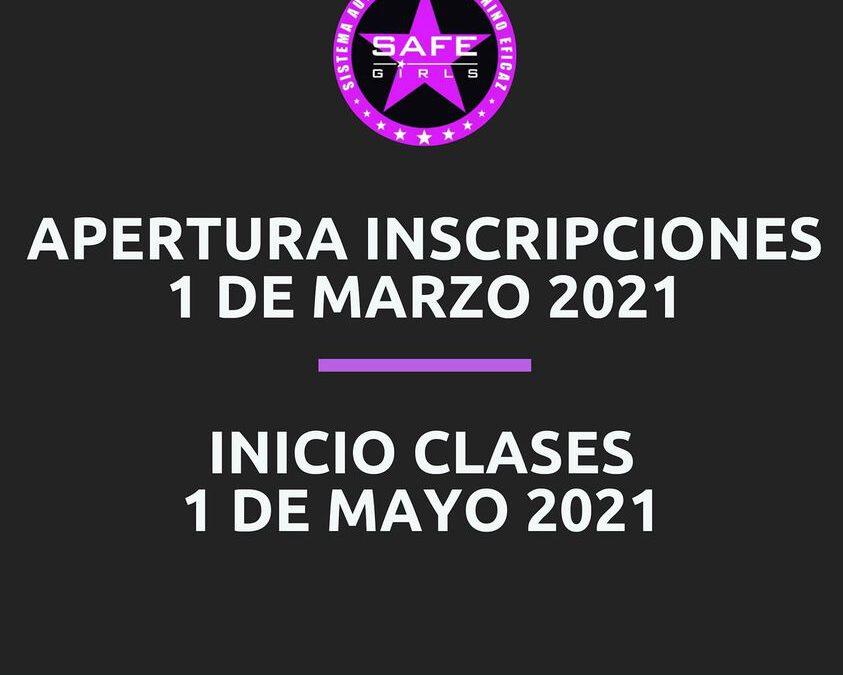INICIO CLASES 2021 EL 2 DE MAYO